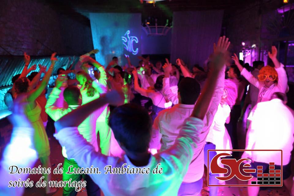 domaine de lucain ambiance de mariage soiree dansante dj sud evenements sono