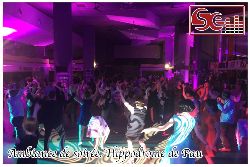 Ambiance de soirée Hippodrome Pau