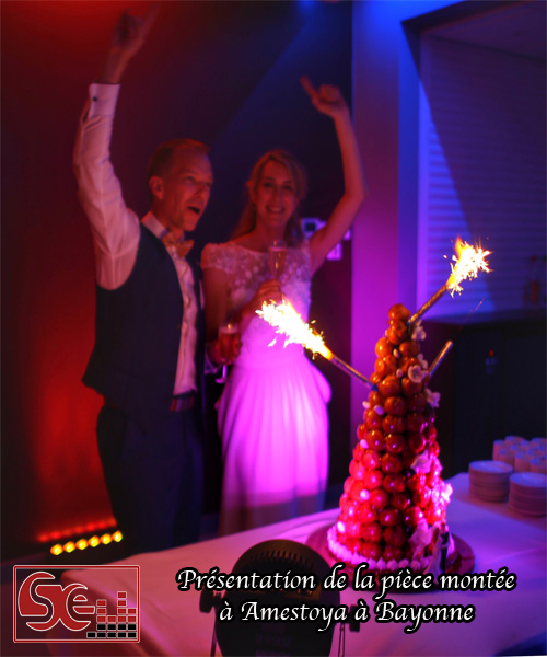 presentation piece montee amestoya bayonne dj djette sud evenements sonorisation animation mariage wedding bayonne pays basque sud landes bearn