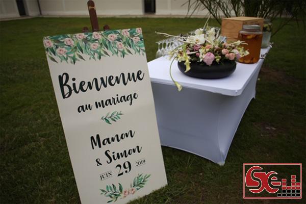 mariage sud evenements sonorisation dj djette animation mariage domaine de bouhemy sud landes solferino sud ouest pays basque aquitaine