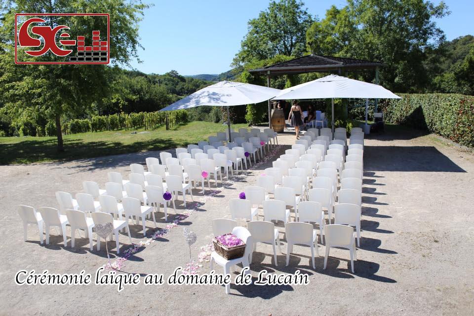 ceremonie engagement laique domaine de lucain gan mariage dj bearn pau sud evenements