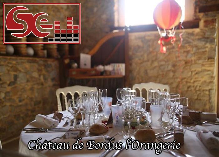 chateau de bordus orangerie port de lanne landes bayonne mariage sud evenements sonorisation dj animation animateur maries domaine de reception pays basque bearn