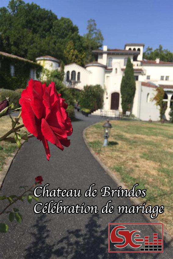 Rose château de Brindos juillet 2016 mariage au pays basque