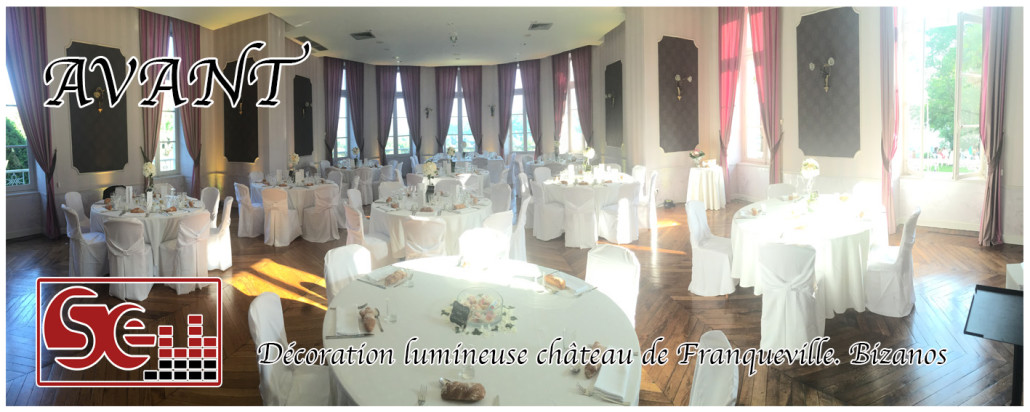 mariage. chateau franqueville