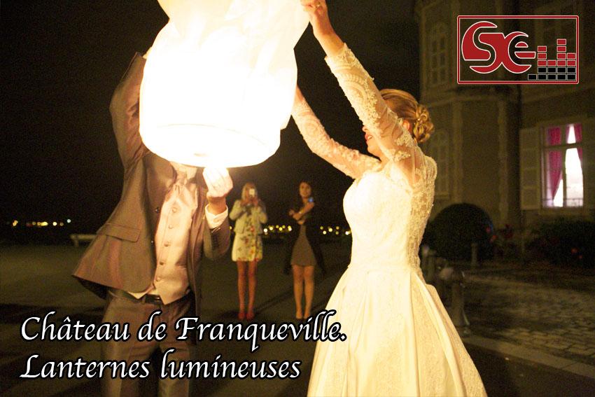 lanternes celestes chateau de franqueville bizanos mariage sud evenements