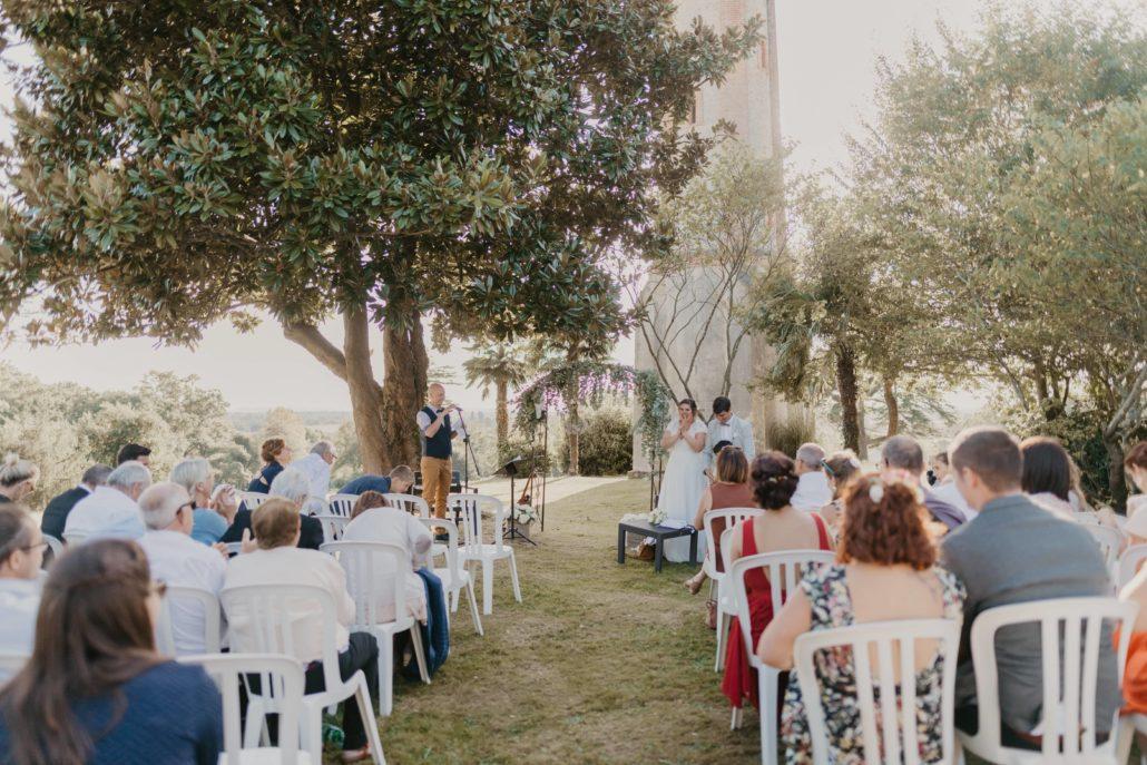 ceremonie laique sud evenements dj djette sonorisation ceremonie d engagement emotions chateau du prada pays basque landes bearn