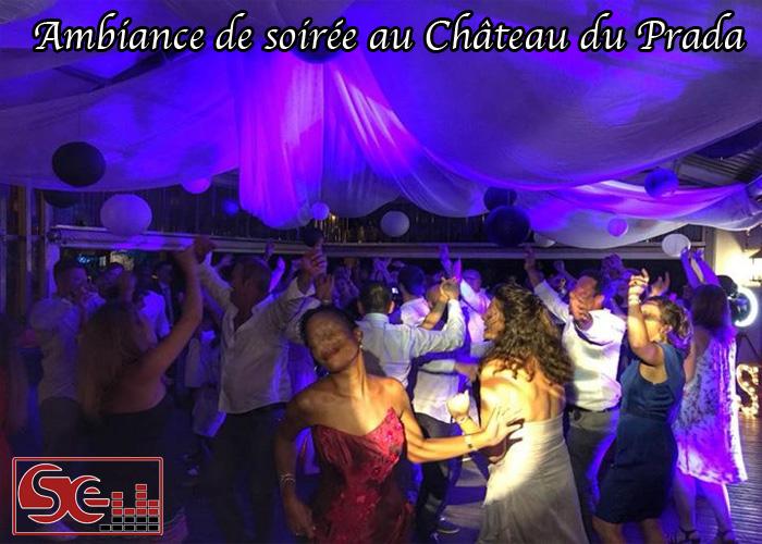 ambiance de soiree dansante au chateau du prada a saint lon les mines dax landes mariage sud evenements sonorisation dj animateur animation pays basques landes bearn seminaires anniversaires musique danse