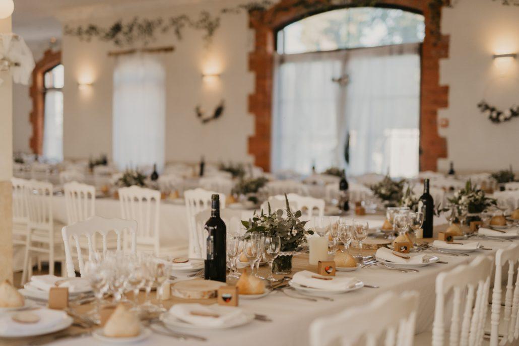tables repas mariage mise en lumiere dj djette animation mariage chateau du prada dax landes pays basque