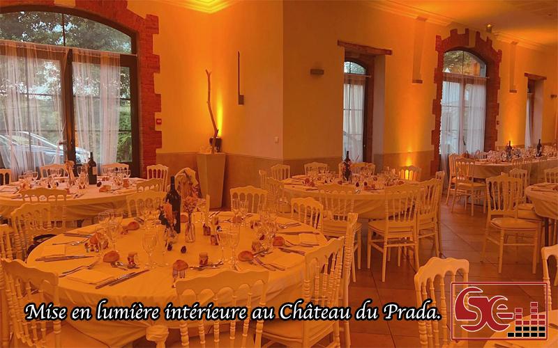 sud evenements sonorisation chateau du prada dj djette animation mariage mise en lumiere chaleureuse dax