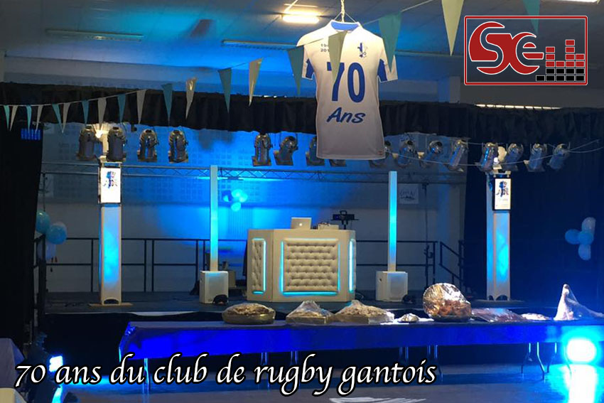 70 ans club de rugby gantois