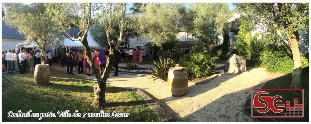 Mariage. Villa des 7 moulins Lescar