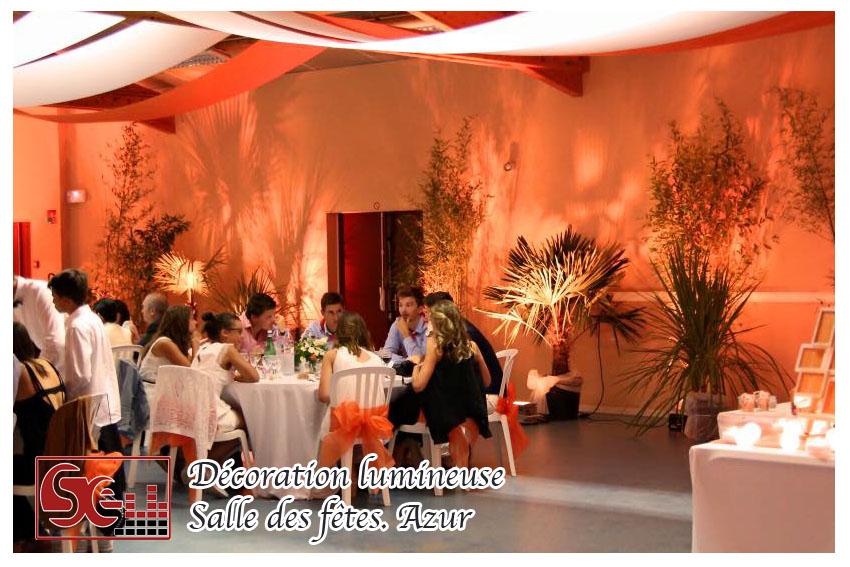 Mariage. Salle des fetes Azur