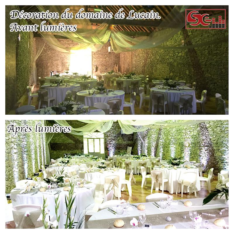 Mariage. Domaine de Lucain