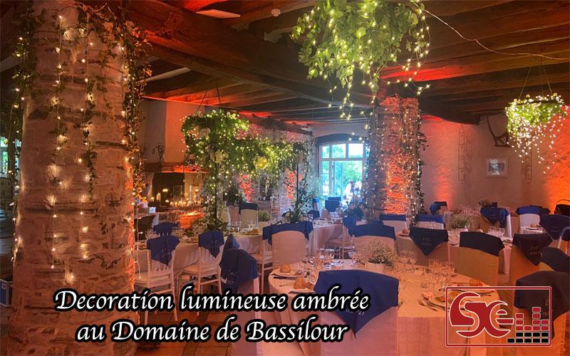 mariage decoration lumineuse sud evenements sonorisation dj djette bassilour bidart