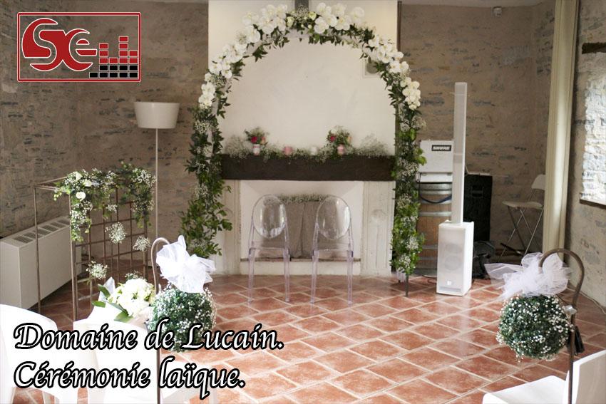 domaine de lucain ceremonie d engagement salle verriere mariage gan
