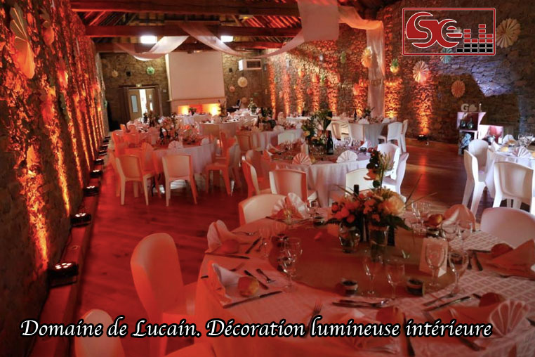 Domaine lucain gan decoration lumineuse interieure