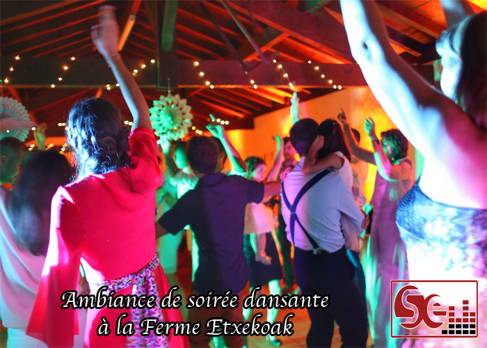 soiree dansante bergerie etxekoak pays basque domaine de reception dj djette sud evenements sonorisation wedding