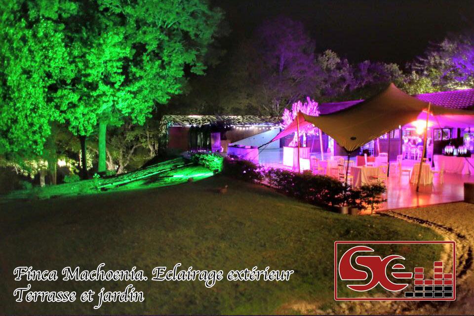 decoration lumineuse exterieure ferme finca machoenia mariage dj pays basque urrugne sud evenements sono