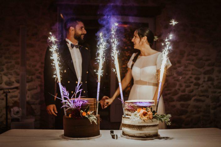 presentation du gateau dj sud evenements sonorisation pau orthez pays basque mariage wedding loubieng domaine de tilh ambiance musique