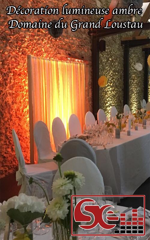 grand loustau lieu de reception mariage semainaires anniversaires maison d'hote sud evenements sonorisation