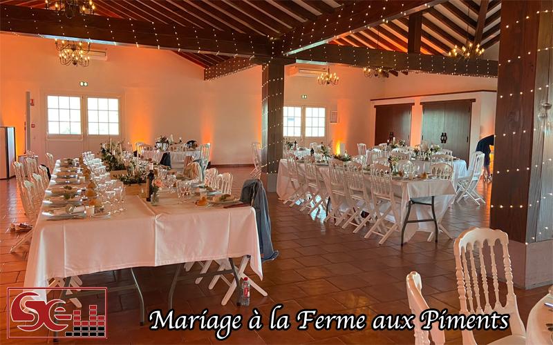 mariage decoration lumineuse chaleureuse idee exemple decoration mariage dj ambiance musique sud evenements sonorisation pays basque
