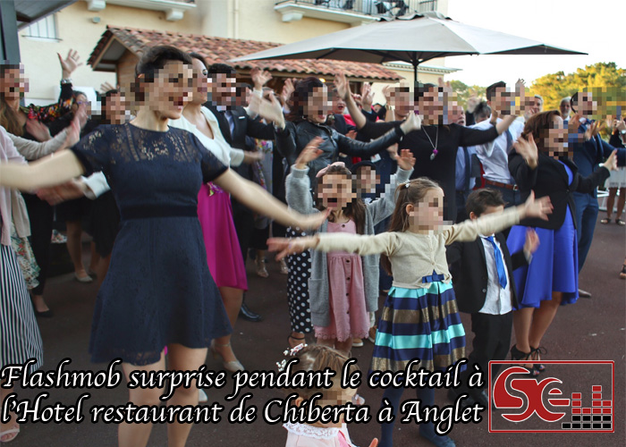 sud evenements sonorisation mise en lumiere dj 64 mariage hotel restaurant chiberta golf cocktail diner mariage wedding flashmob animateur djette decoration musique ambiance
