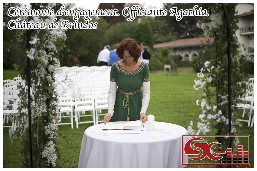 Mariage. Chateau de Brindos