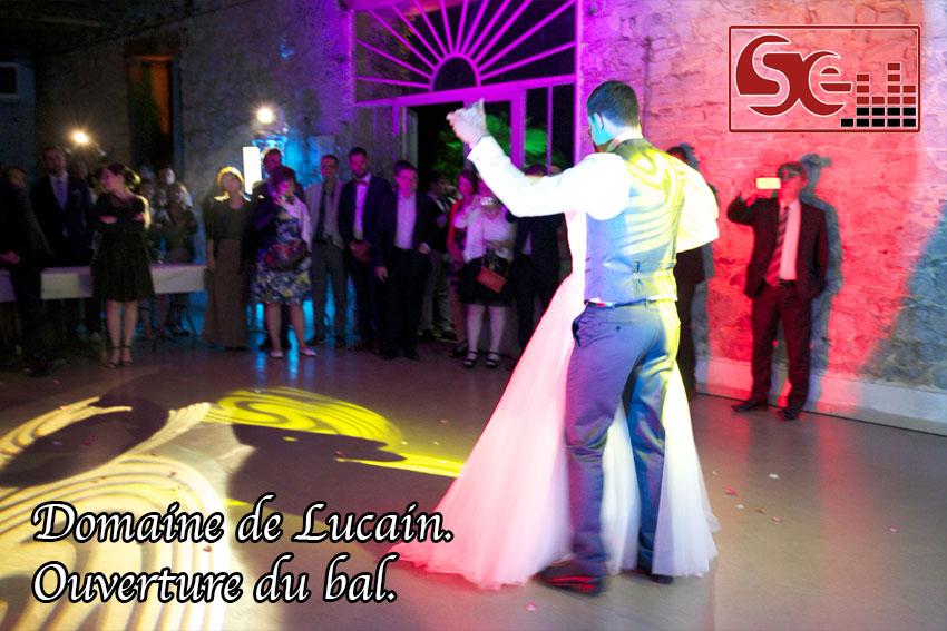 ouverture du bal gan premiere danse mariage domaine de lucain