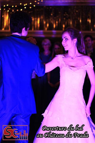 ouverture du bal chateau du prada maries mariage animation sud evenements sonorisation mise en lumiere mise en valeur piste de danse premiere danse dax saint lon les mines