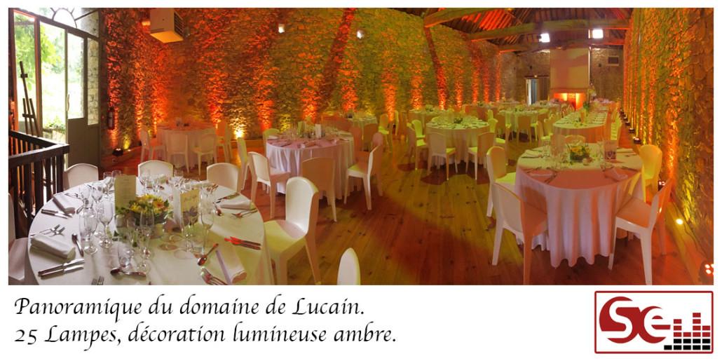 Mariage domaine de lucain. Animation dj 64 bearn pays basque sud evenements sonorisation animateur biarritz pau bayonne capbreton