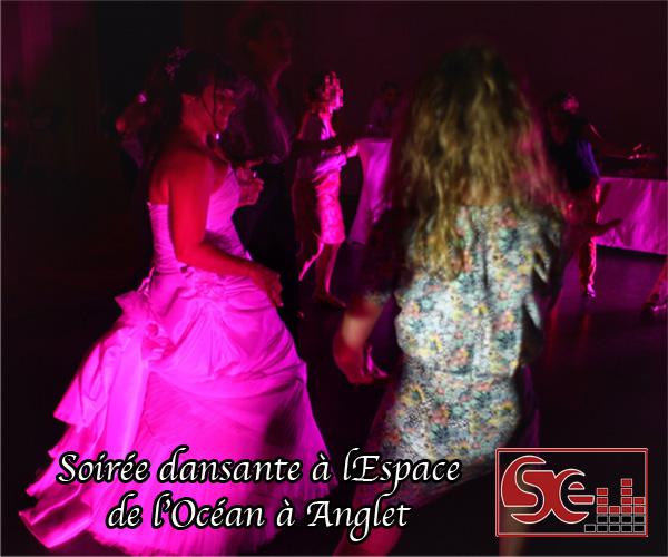 soiree dansante sud evenements sonorisation bayonne espace de l ocean anglet mariage pays basque lumieres animations ambiance piste de danse decoration lumineuse domaine de reception salle de mariage aquitaine