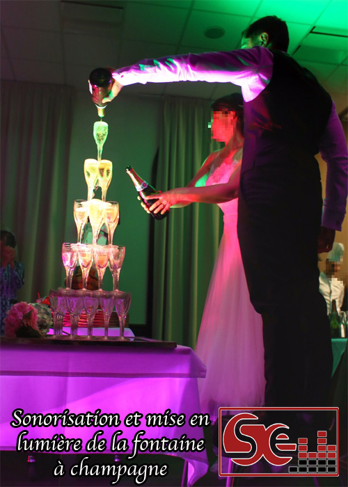 sud evenements sonorisation mariage dj animateur 64 40 pays basque landes bearn bayonne anglet hotel chiberta golf traiteur restaurant anglet ambiance animation wedding mise en lumiere fontaine champagne