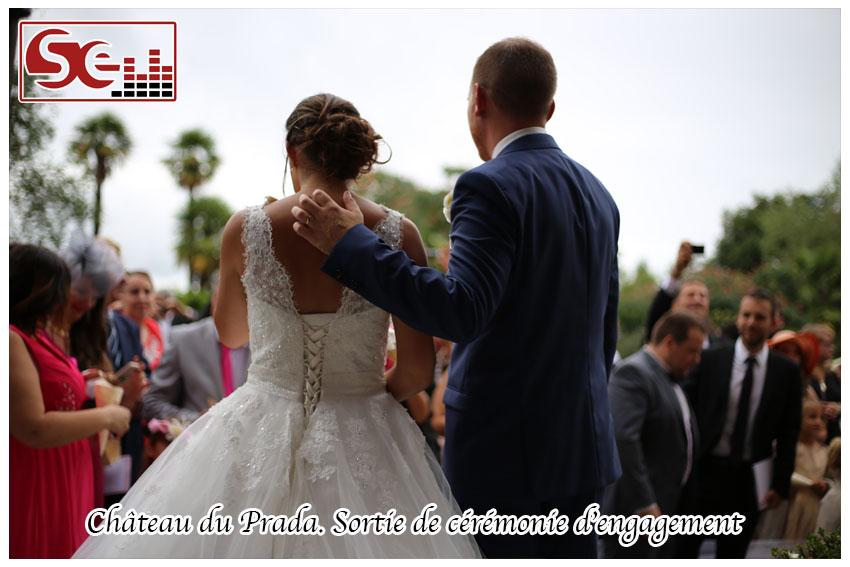 Mariage. Chateau du Prada