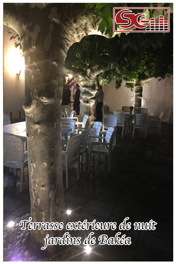 Mariage. Jardins de Bakéa
