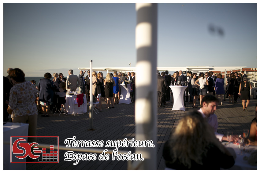 Mariage. Espace de l ocean