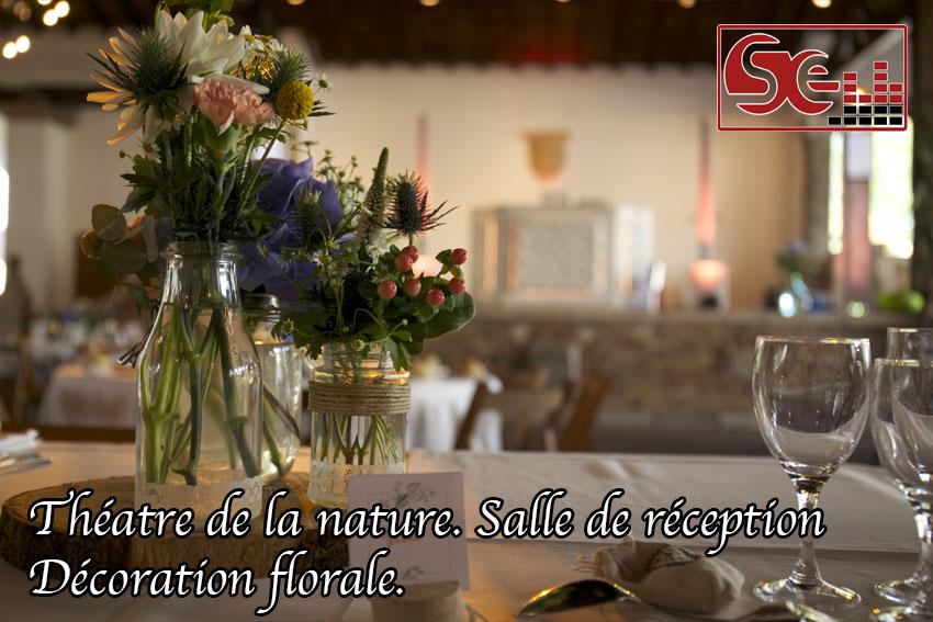 fleur et décoration théâtre de la nature arcangues mariage pays basque